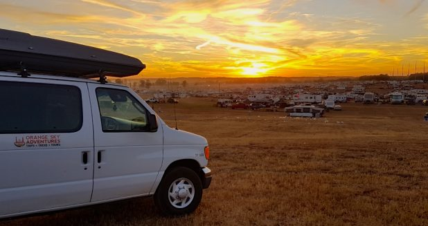 Orange Sky Adventures at Talladega for NASCAR