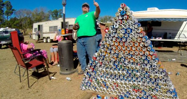 Talladega Beer Pyramid