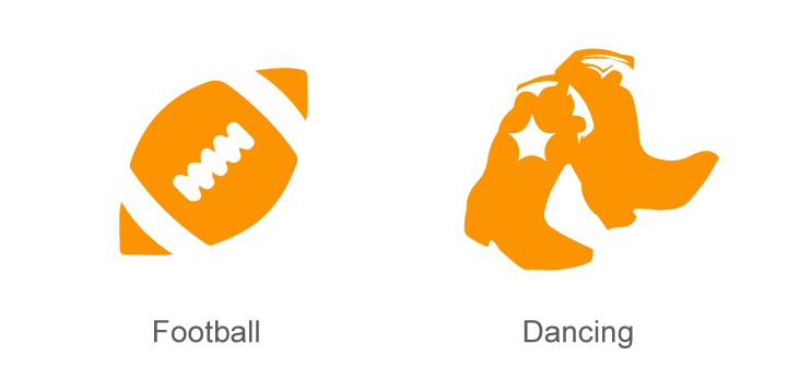 Football and Dancing