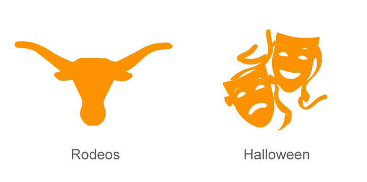Texas Rodeos and Halloween
