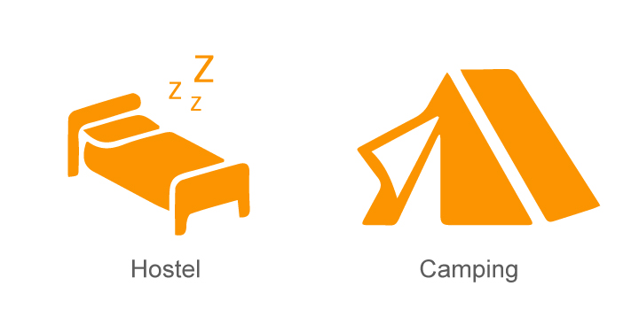 Hostel and Camping