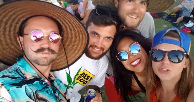 Coachella Selfie