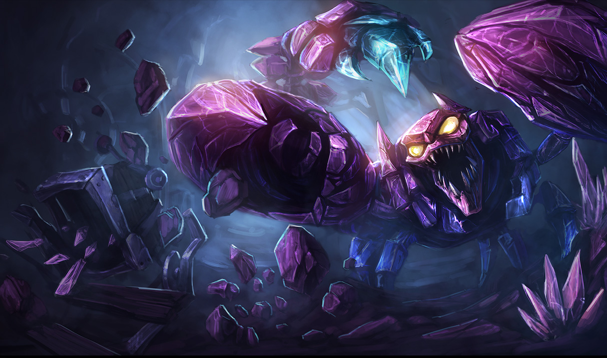 Skarner the Crystal Vanguard