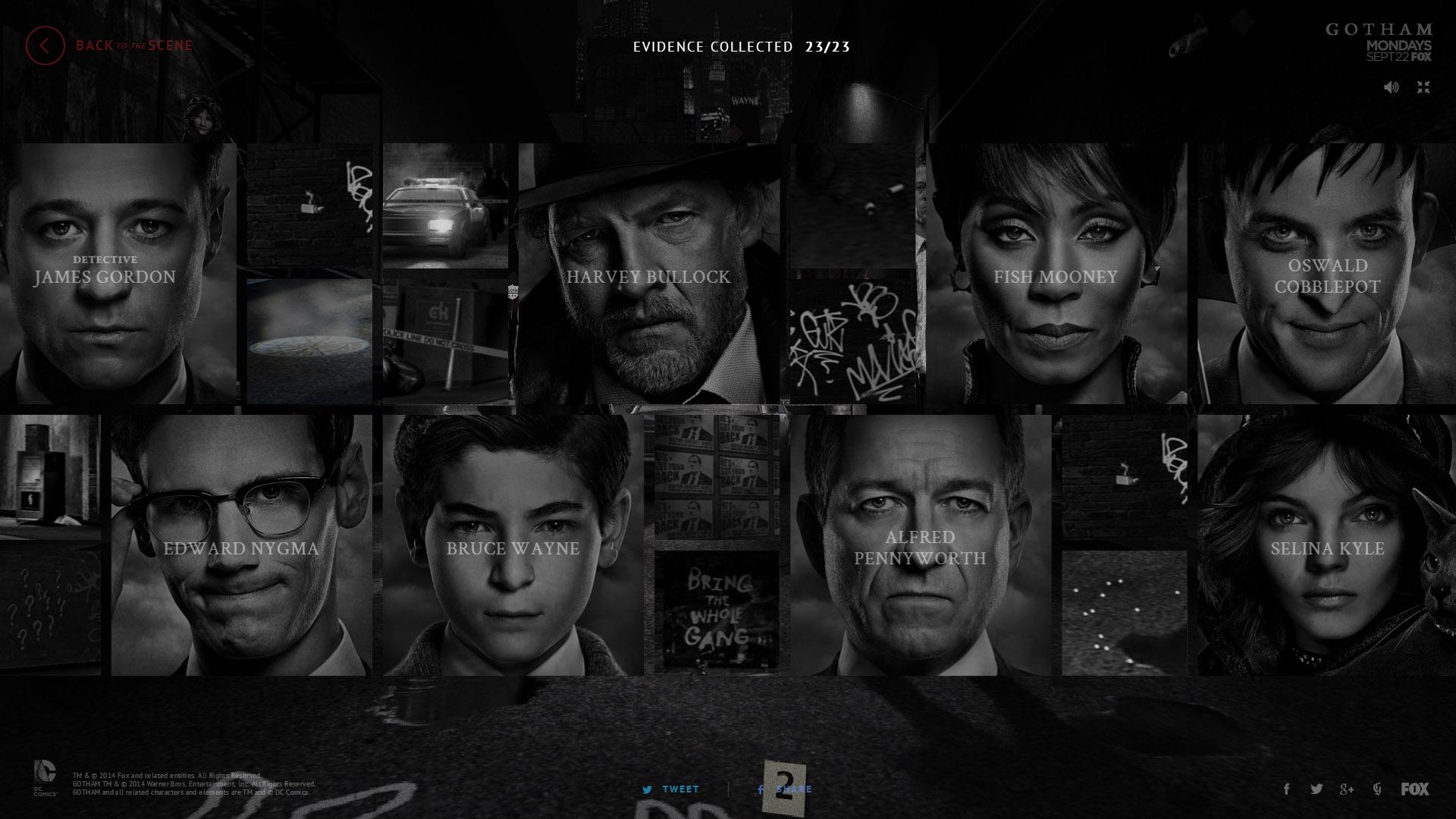 Gotham Fox Tv Show Poster