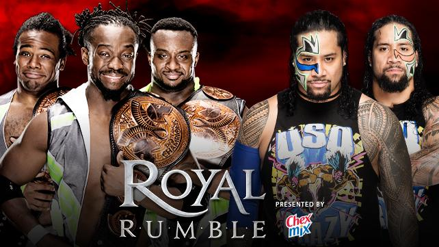 New Day vs The Uso's - Royal Rumble