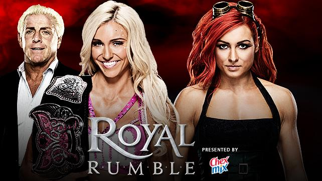 becky lynch vs charlotte wwe royal rumble