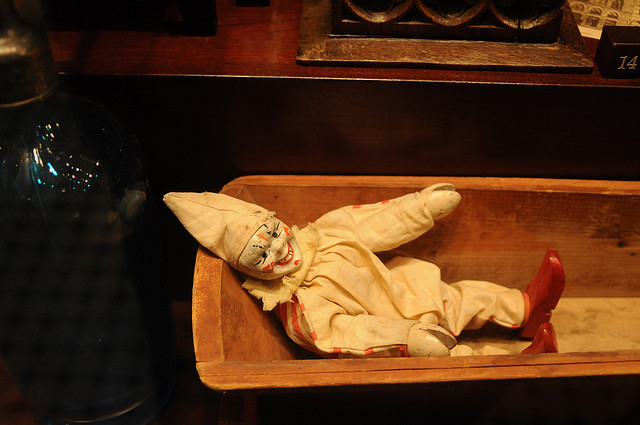 Creepy Doll In Museum