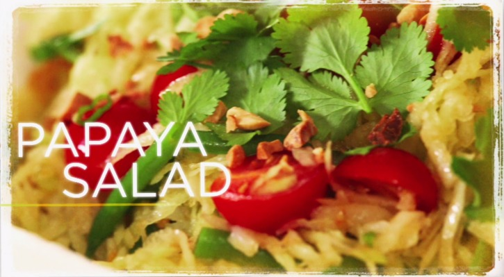 Papaya Salad - Real Girl's Kitchen