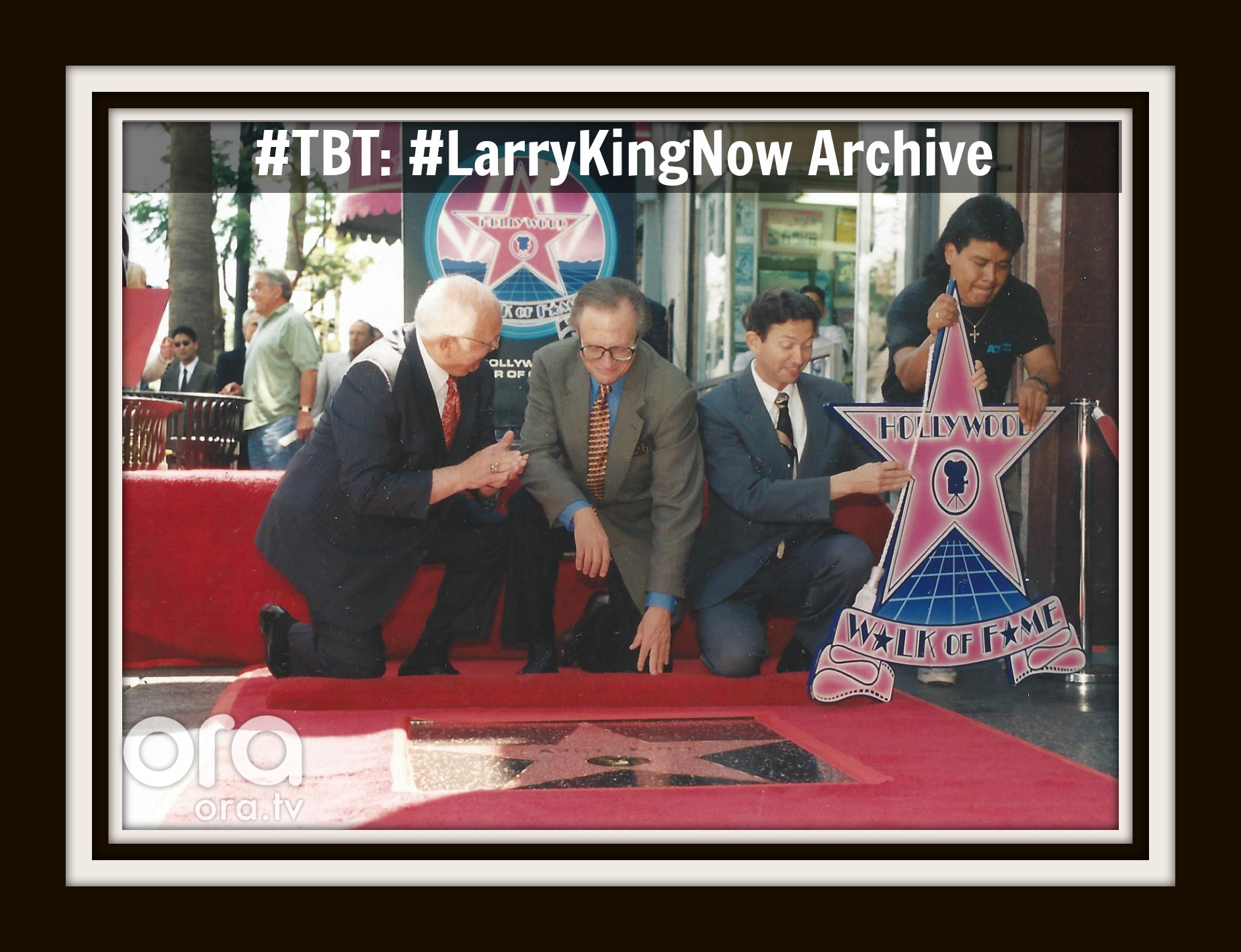 Larry King - Hollywood Walk of Fame Star