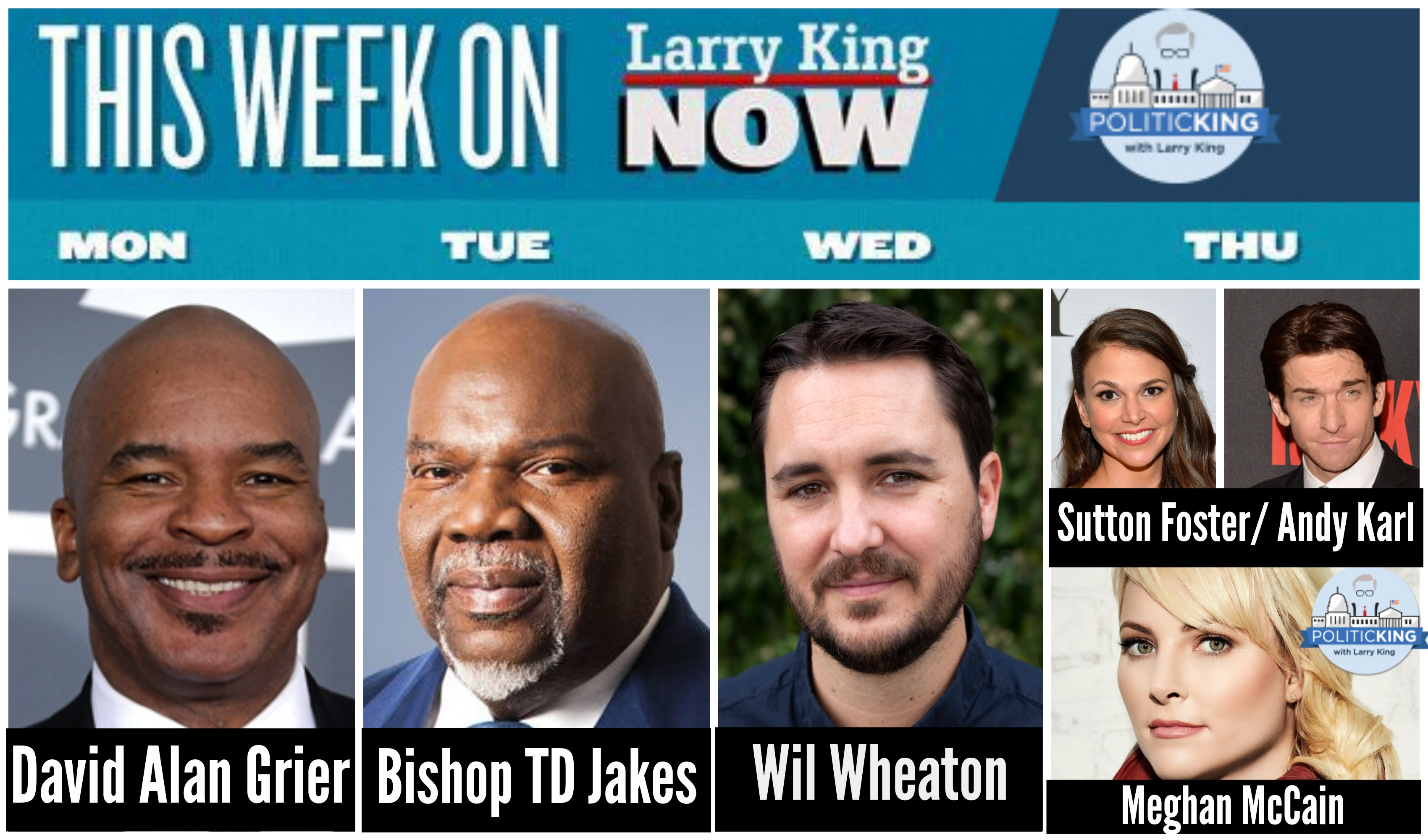 This Week on Larry King Now & PoliticKING - May 19 2014