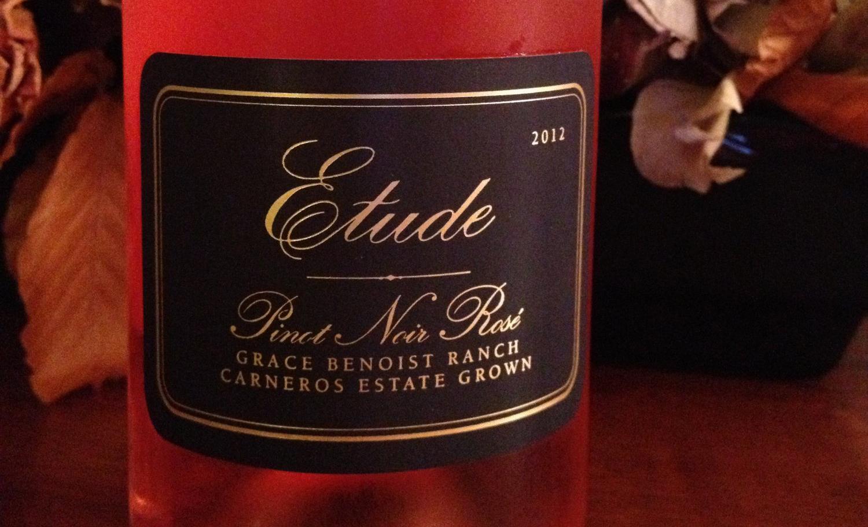 2013 Etude Pinot Noir Rosé (Napa, California)