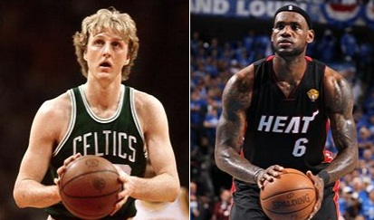 Larry Bird LeBron James