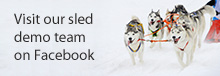 Visit our sled demo team on Facebook
