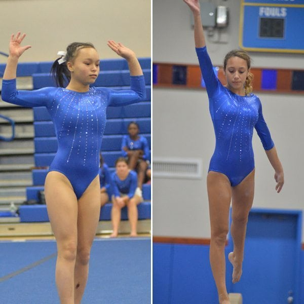 Left: sophomore Allison Chin – Right: senior Vittoria Notaro