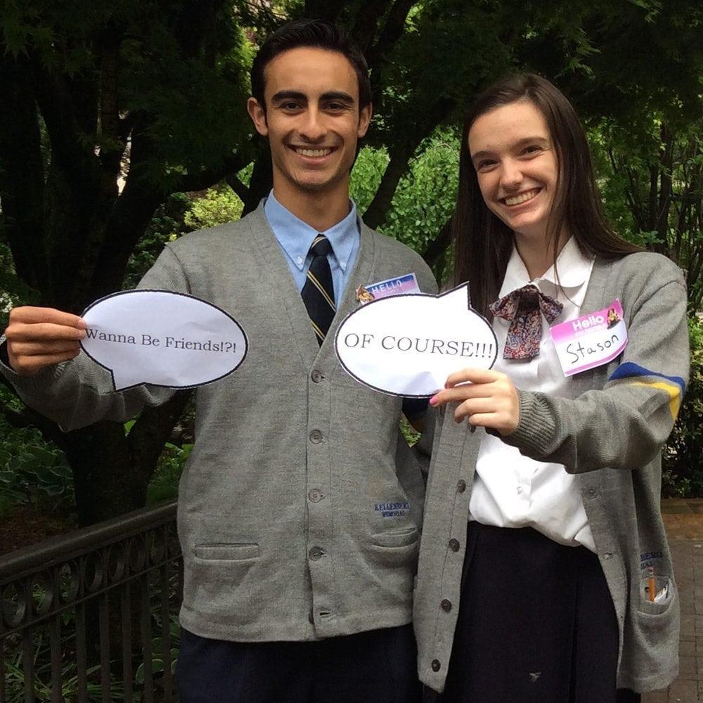 Most Friendly- Jason Galarza and Stephanie Gallo copy