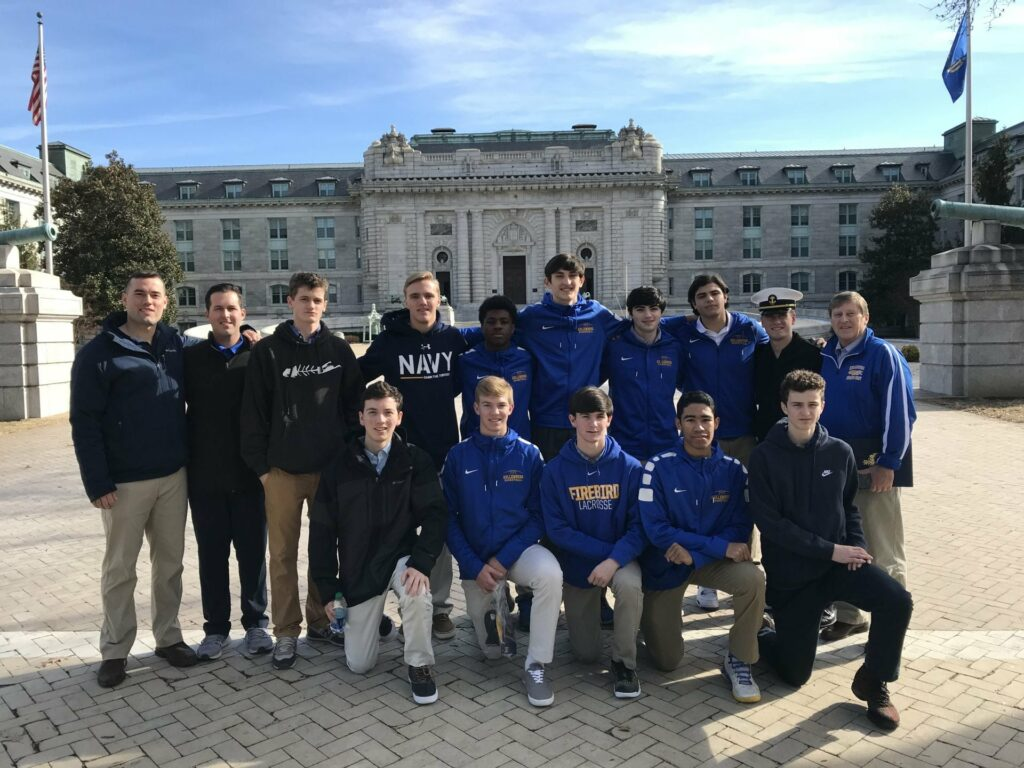 Varsity Basketball at US Naval Academy