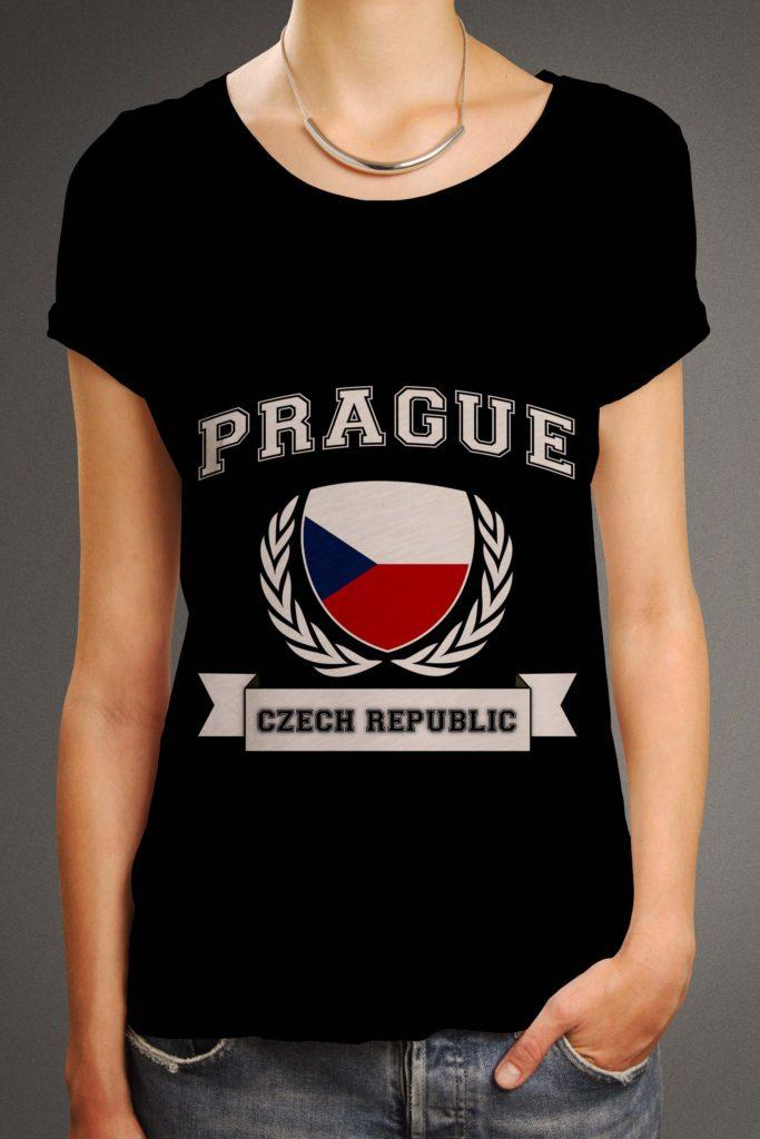 Amber-front-pocket-tshirt-origin-blackprague_czech_rep_flag