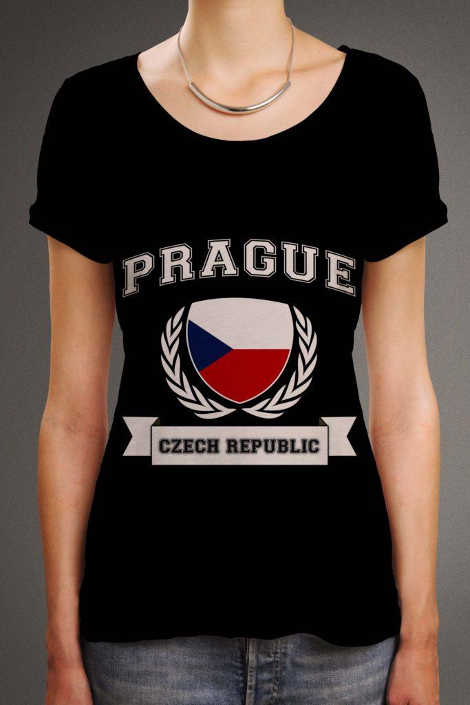 Amber-front-tshirt-origin-blackprague_czech_rep_flag