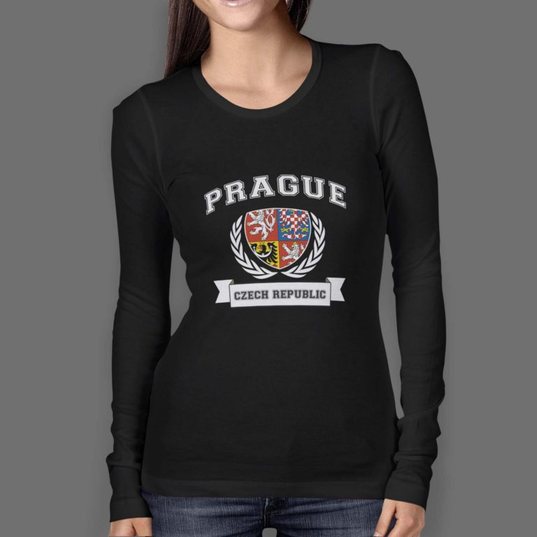 Womens-Longsleeve-O-Neck-FRONT-black-prague-czech-wreath