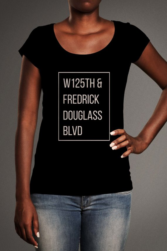 Camilla-front-one-elbow-tshirt-origin_black-w1256-and-fredrick-douglass-blvd
