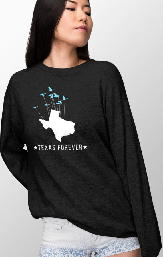 aiko-pullover-female-front-black-texas-forever-birds-12×18