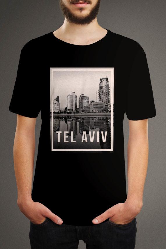 Model Brad in Tel Aviv T-Shirt from Origin Clothing