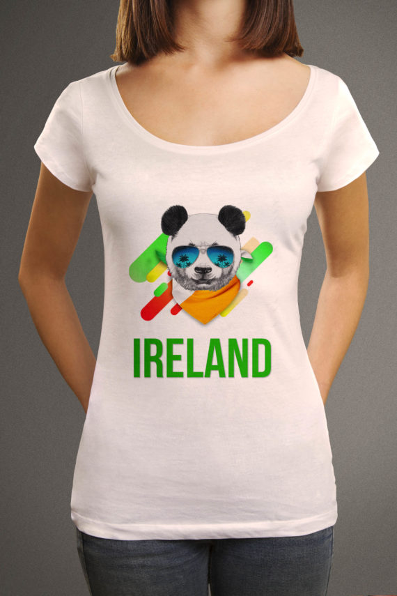 Betty-front-elbows-tshirt-envato-origin-white-panda-flag-ireland-condensed