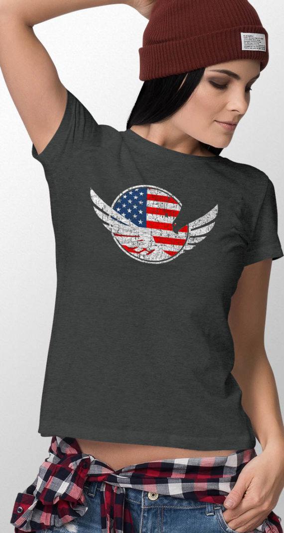 demi-crew-neck-female-tshirt-front-04-dark-heather-grey-usa-logo-and-flag