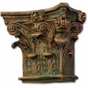 Corinthian Pilaster Top-Small