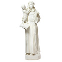 """St. Anthony With Child 44""""h"""