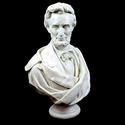 Lincoln Bust Draped Beard 34