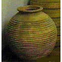 Round Ribbed Urn 29 (SEE FS60204)