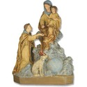Saint Dominic, Mother, Child, Dog