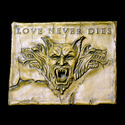 Love Never Dies Plaque