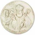 Saint Bridgette/ Patrick Plq