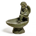 Meditating Birdbath 17