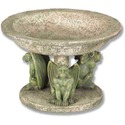 Three Gargoyle Urn Large 4.5