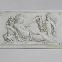 Goddess with Cherub Plaque Right