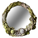 Rose Wreath Mirror