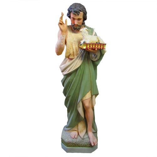 Saint John The Baptist w/ Sheep On Book
