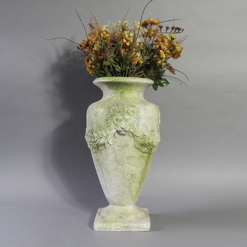 Lion and Garland Vase