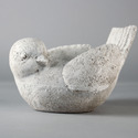 Left Looking Bird Planter