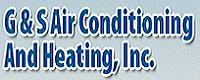 Website for G & S Air Conditioning & Heating, Inc.