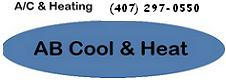 Website for AB Cool Heating & Air