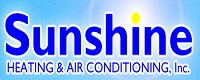 Website for Sunshine Heating & Air Conditioning, Inc.