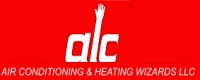 Website for Air Conditioning & Heating Wizards, LLC