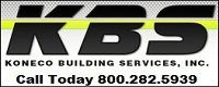 Website for Koneco Building Services, Inc.