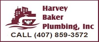 Website for Harvey Baker Plumbing, Inc.