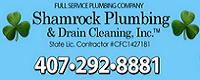Website for Shamrock Plumbing and Drain Cleaning Inc.