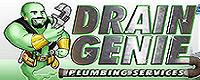 Website for Drain Genie Plumbing Services